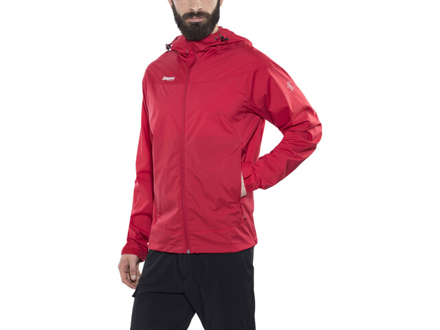 Bergans Microlight Jacke Herren red